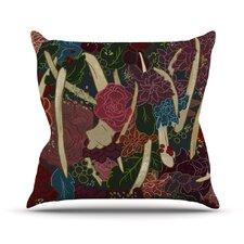 New Life by Jaidyn Erickson Flowers Throw Pillow