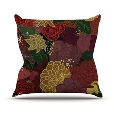 Flowers by Jaidyn Erickson Throw Pillow