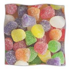 I Want Gum Drops Microfiber Fleece Throw Blanket