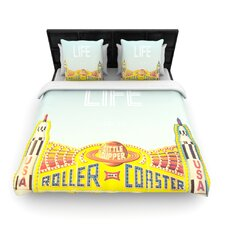 Life Is A Rollercoaster Duvet Cover