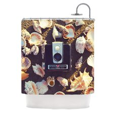 The Four Seasons Summer Polyester Shower Curtain
