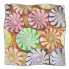 I Want Candy Microfiber Fleece Throw Blanket