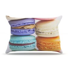 I Love Macaroons Pillow Case