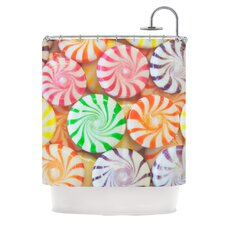 I Want Candy Polyester Shower Curtain