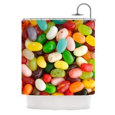 I Want Jelly Beans Polyester Shower Curtain