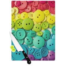 Cute As A Button Cutting Board