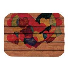 Wooden Heart Placemat