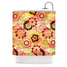 Colorful Mix Polyester Shower Curtain