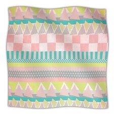 Luna Microfiber Fleece Throw Blanket