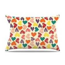 Little Hearts Pillow Case