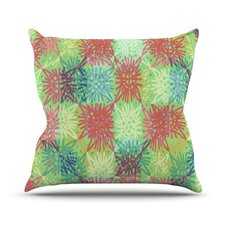 Multi Lacy Throw Pillow