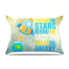 Explore The Stars Pillow Case