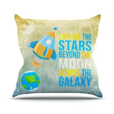 Explore The Stars Throw Pillow