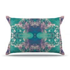 Ashby Blossom Teal Pillow Case