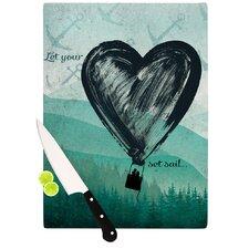 Heart Set Sail Cutting Board