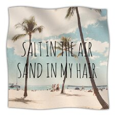 Salt in The Air Microfiber Fleece Throw Blanket