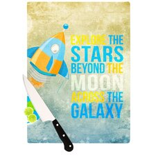 Explore The Stars Cutting Board