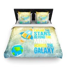 Explore The Stars Duvet Cover
