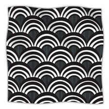 Art Deco Microfiber Fleece Throw Blanket