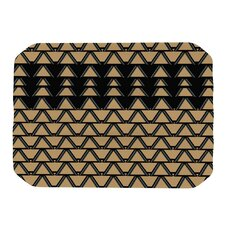 Deco Angles Gold Black Placemat