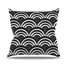 Art Deco Outdoor Throw Pillow