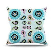 Paisley Candy Throw Pillow