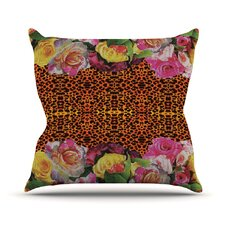New Rose Eleo Throw Pillow