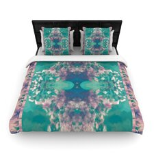 Ashby Blossom Teal Duvet Cover Collection