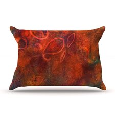 Tie Dye Paisley Pillow Case