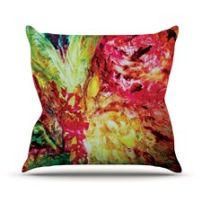 Passion Flowers I Throw Pillow