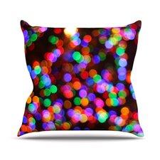 Lights II Throw Pillow