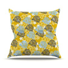 Flowers by Nandita Singh Throw Pillow