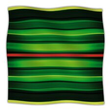 Stripes Fleece Throw Blanket