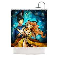 Nutcracker Polyester Shower Curtain