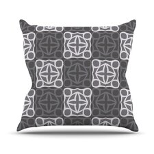 Granny Goes Modern Throw Pillow