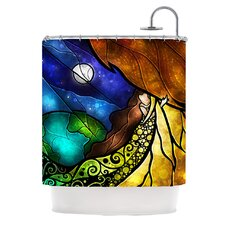 Psalms Polyester Shower Curtain