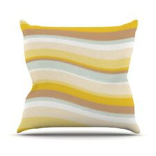 Desert Waves Throw Pillow