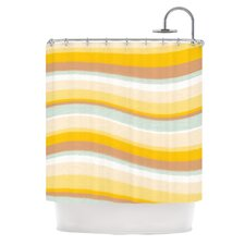 Desert Waves Shower Curtain
