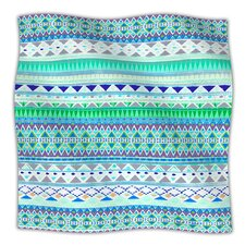 Emerald Chenoa Fleece Throw Blanket