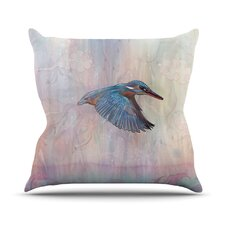Terror From Above Throw Pillow