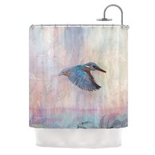 Terror From Above Polyester Shower Curtain