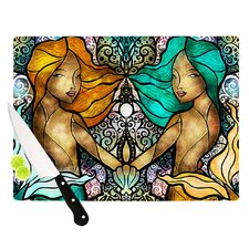 Mermaid Twins Cutting Board