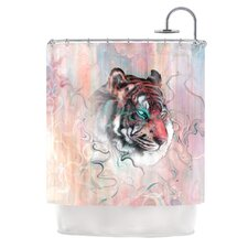 Illusive by Nature Polyester Shower Curtain