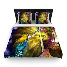 Fairy Tale Off To Neverland Duvet Cover