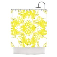 Citrus Spritz Polyester Shower Curtain