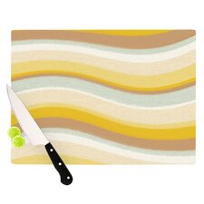 Desert Waves Cutting Board