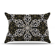 Ethnical Snowflakes Pillow Case