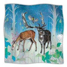 Glade Microfiber Fleece Throw Blanket