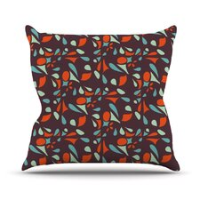 Retro Tile Throw Pillow