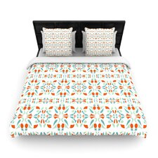 Italian Kitchen Orange Duvet Cover Collection